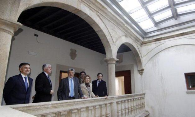 El reformado Parador de Turismo de Cáceres se inaugurará oficialmente este miércoles día 20