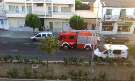 """Nueve heridos en un choque entre dos vehículos en la carretera EX-109, a la altura del cruce de """"La Fatela"""""""