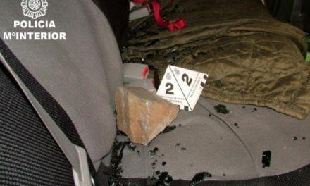 La Policía Nacional detiene en Cáceres a una persona por siete robos y hurtos en interior de vehículos