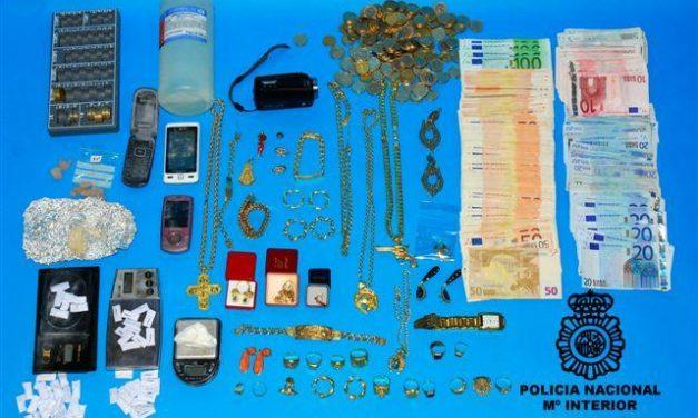 La Policía Nacional desarticula dos puntos de venta de droga en la zona centro de Badajoz