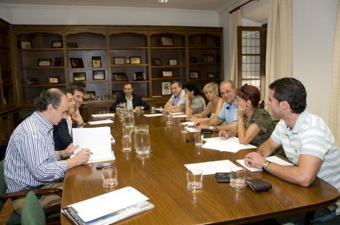 La Diputación Provincial de Cáceres constituye las cinco primeras comisiones informativas