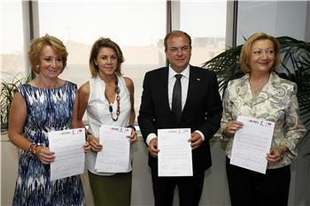 El presidente de la Junta pide que el Eje 16 se mantenga como prioritario dentro de la red europea de transportes