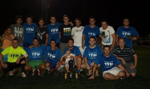 TFM se proclama campeón de la VIII Liga de Fútbol-7 Villa de Moraleja en la que han participado 14 equipos