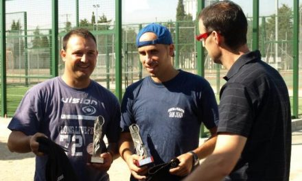 Los caurienses Juan Valle y Alberto Bertol ganan el I Torneo de Pádel de San Buenaventura de Moraleja