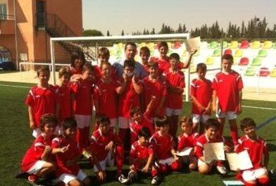 El Campus de Fútbol Base Villa de Moraleja cuenta con la participación de 60 niños de la localidad