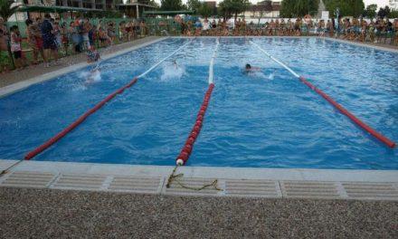 Las piscinas de Moraleja acogen el VII Torneo de San Buenaventura de natación con 27 participantes