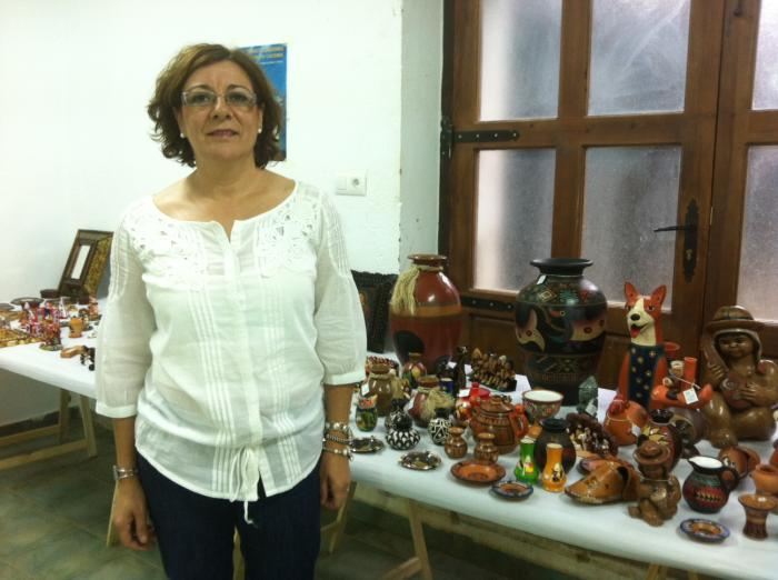 La Casa Toril de Moraleja acoge la venta de productos de comercio justo para ayudar a América Latina
