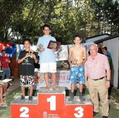 El cauriense Héctor Giammatteo se proclama subcampeón de España Optimist en Navarra