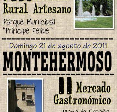 La Oficina de Turismo publica el cartel anunciador del XII Mercado Rural Artesano de Montehermoso