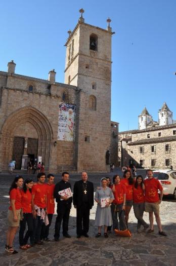La Diócesis de Coria-Cáceres recibirá a más de 1.200 peregrinos para la Jornada Mundial de la Juventud