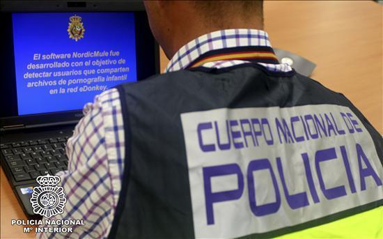 Una operación internacional contra la pornografía infantil se salda con ocho detenidos, uno de ellos en Badajoz