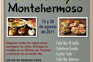 Siete bares de Montehermoso celebrarán la VI Ruta de la Tapa los sábados 13 y 20 de agosto