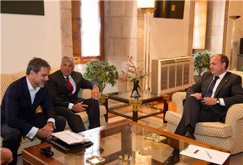 Monago se reúne con inversores norteamericanos para potenciar posibles inversiones en la región