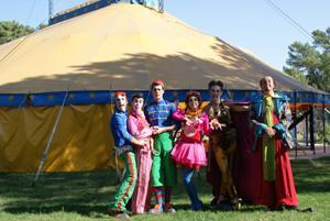 Jóvenes europeos descubrirán técnicas circenses en un campo de trabajo en Talayuela
