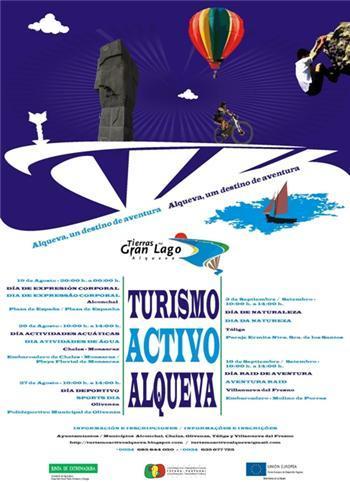 El Gran Lago de Alqueva acogerá varias actividades de turismo activo relacionadas con el medio acuático