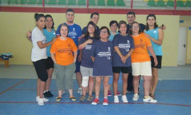 Baños de Montemayor acoge una actividad de ocio y tiempo libre para jóvenes discapacitados