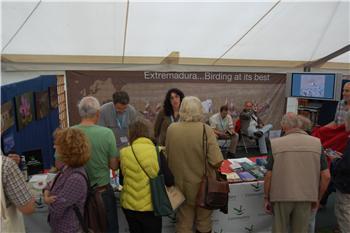 La ornitología regional se promociona en el certamen británico British Birdwatching Fair