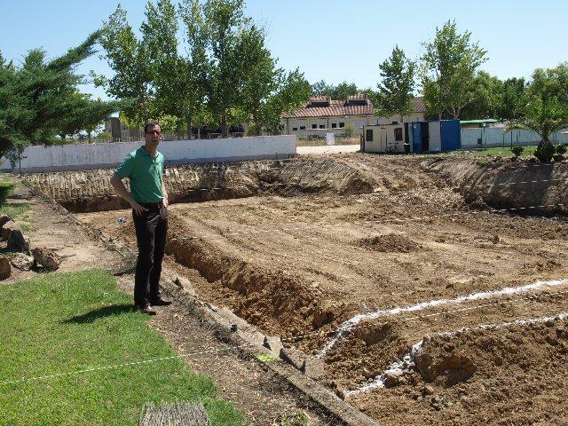 Moraleja cifra en 35.000 los usuarios potenciales de la futura piscina climatizada municipal
