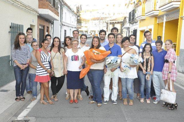 Mabel Hernández Capacete resulta elegida presidenta de Nuevas Generaciones de la localidad de Almaraz