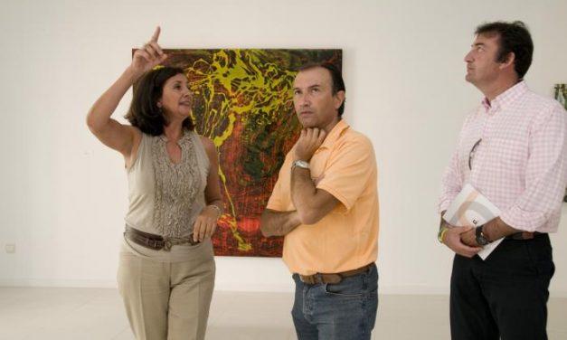 Laureano León anima a los extremeños a visitar la muestra de arte Cáceres Contemporánea