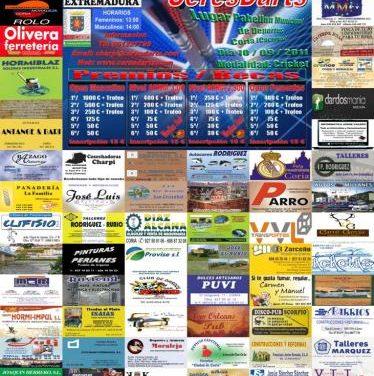 El pabellón deportivo de Coria albergará el próximo día 10 el II Open de Dardos CeresDarts