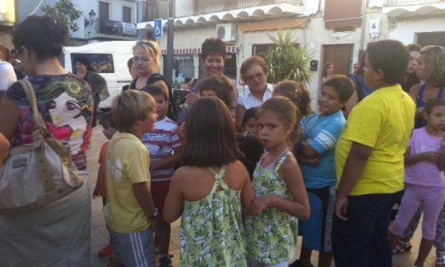 Gran éxito de participación en la cita  festiva organizada por los Vecinos de la Zona Centro de Moraleja