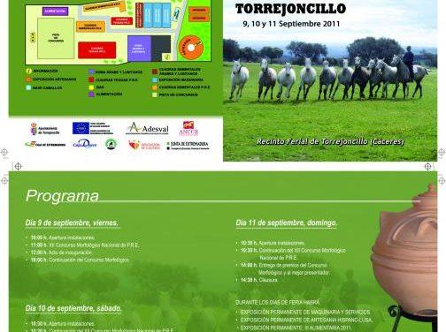 Torrejoncillo acogerá la XV Feria del Caballo que incluye una muestra de productos artesanos y culinarios