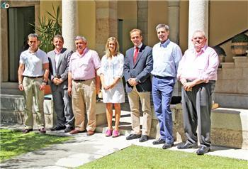 Monago asistirá al encuentro de veteranos del Real Madrid y Barcelona que acogerá Montijo el próximo día 17