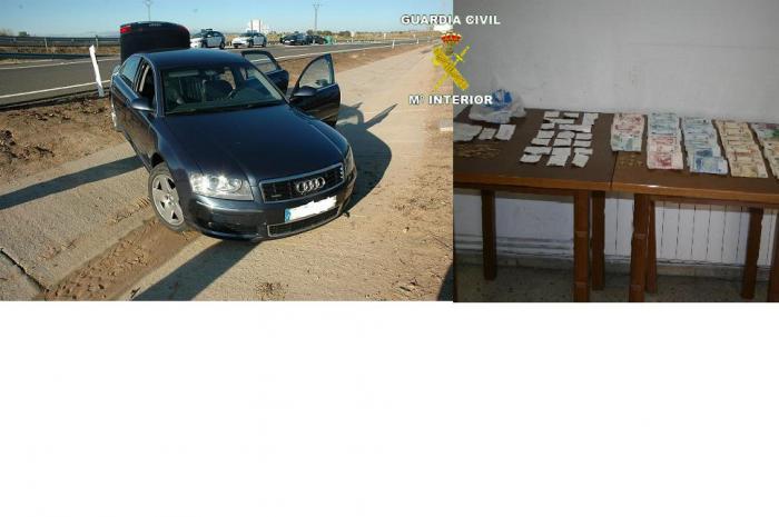 Detenidos tras un tiroteo en Casatejada cinco atracadores que robaron en bancos en Alagón, Galisteo y Baños
