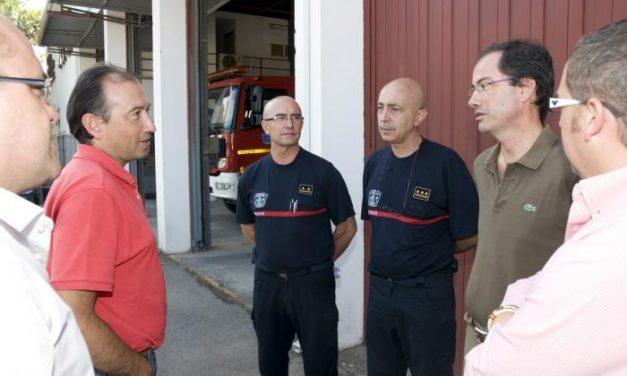 El diputado Emilio Borrega visitará las instalaciones del parque de bomberos de Valencia de Alcántara
