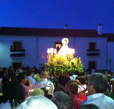 Cientos de romeros rinden homenaje a la Virgen de los Remedios, patrona de Valencia de Alcántara
