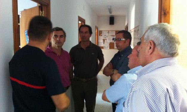 La Diputación estudia mantener operativo 24 horas  el servicio del SEPEI de Valencia de Alcántara