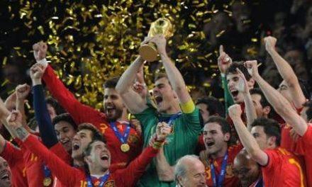La Copa del Mundo de Fútbol llegará a Coria el miércoles día 14 y se podrá visitar en el ayuntamiento