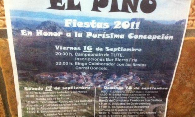 La aldea de El Pino celebra la Purísima Concepción con degustaciones, bailes, actos religiosos y juegos