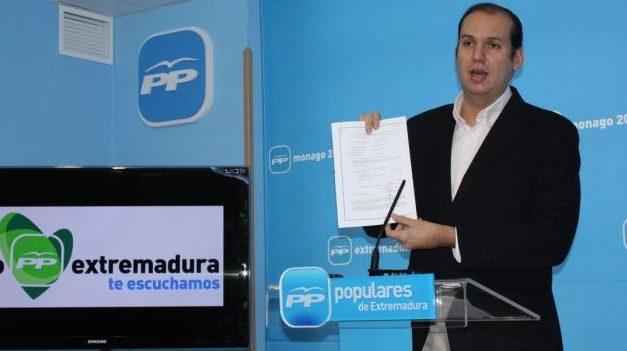 """El PP califica de """"penoso"""" que el PSOE critique a la Junta en materia educativa para  """"hacer caja"""" electoral"""
