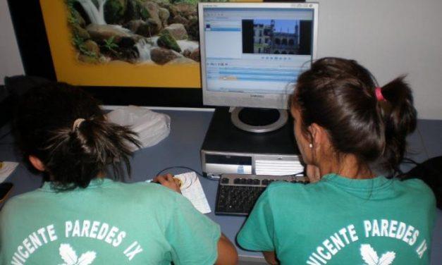 El NCC de Plasencia acoge un taller de creación de videocurriculum con los alumnos de la escuela taller