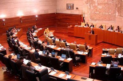 El Pleno de la Asamblea acepta la propuesta de IU Verdes-SIEX de revisar el Estatuto del ex-presidente