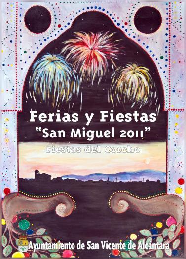Coral Pámpano gana el concurso del cartel anunciador de las Ferias de San Vicente de Alcántara