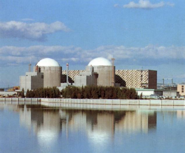 Medio millar de manifestantes exige  el cierre de la Central Nuclear de Almaraz