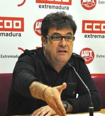 CCOO apuesta en Extremadura por alcanzar un pacto para generar empleo y desarrollo económico
