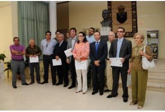 Los alcaldes de Villuercas-Ibores-Jara obtienen el diploma de reconocimiento del Geoparque