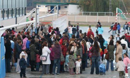La dirección del colegio de Hervás prevé que las obras de reparación finalicen la próxima semana