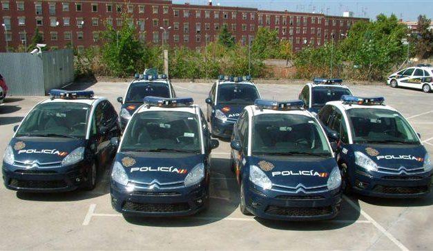 La Jefatura Superior de Policía de Extremadura se refuerza con siete nuevos vehículos Citroen C4