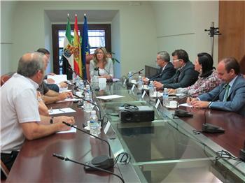 Teniente ofrece a Cepes el compromiso del Gobierno regional con la economía social en el Plan de Empleo