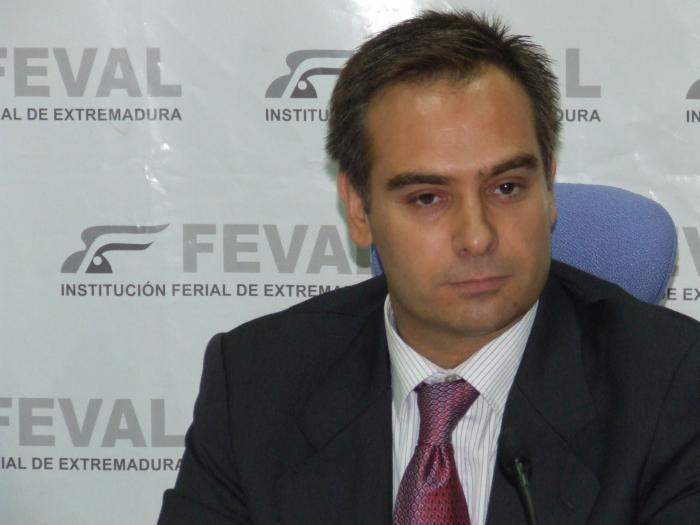 El nuevo director general de Feval, Enrique Barrasa, presenta el nuevo plan estratégico de la institución