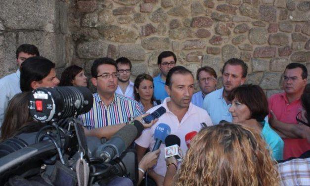 Laureano León mantendrá un encuentro con el alcalde de Coria y visitará el parque del SEPEI