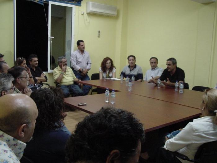El alcalde de Miajadas, el popular Juan Luis Isidro, ha sido elegido nuevo presidente de Adicomt