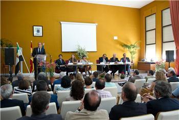 Monago inaugura el curso escolar en el centro de formación del Medio Rural de Don Benito