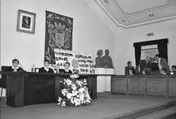 Veinticuatro escolares de Almendralejo participan en un pleno infantil con motivo del Día de la Constitución
