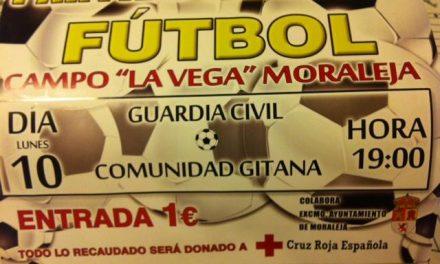 Guardias Civiles y jugadores de la comunidad gitana se enfrentarán en un partido benéfico el lunes en Moraleja